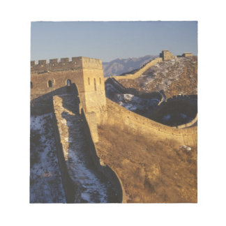 Landscape of Great Wall under sunset, China Notepad