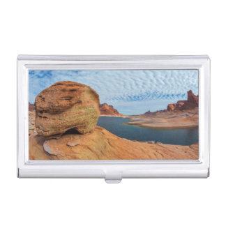 Landscape of Lake Powell Business Card Holder
