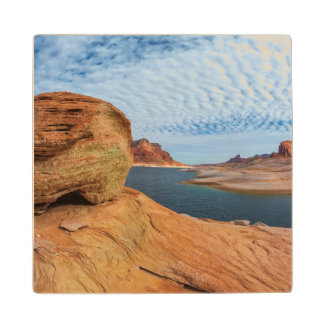 Landscape of Lake Powell Wood Coaster