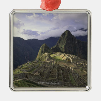 Landscape of Machu Picchu, Peru Christmas Ornament