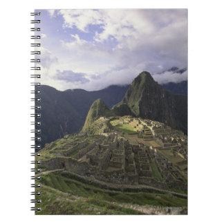 Landscape of Machu Picchu, Peru Notebook