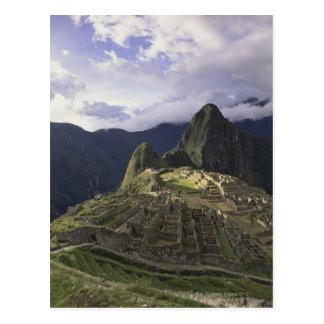 Landscape of Machu Picchu, Peru Postcard