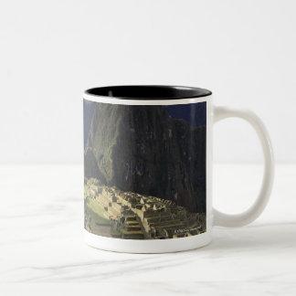 Landscape of Machu Picchu, Peru Two-Tone Coffee Mug