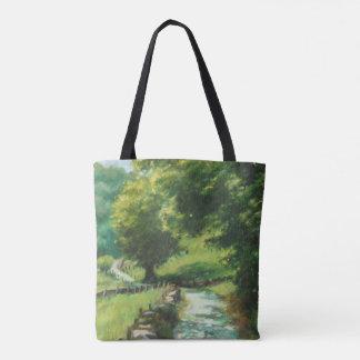 Landscape of nature. Navarre Tote Bag
