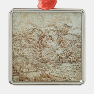 Landscape of the Alps by Pieter Bruegel the Elder Ornament