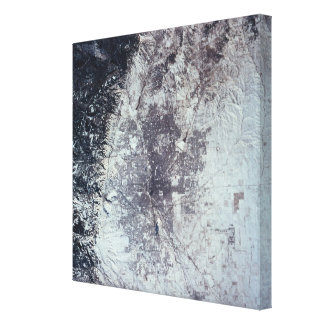Landscape of the Earth\ Canvas Prints