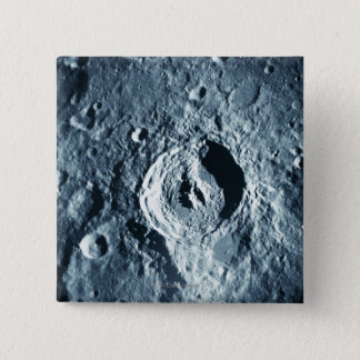 Landscape of the Moon 15 Cm Square Badge