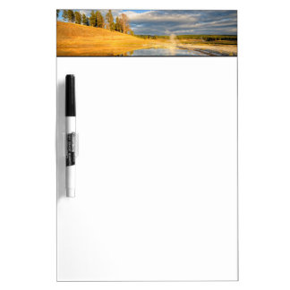 Landscape of Yellowstone Dry Erase Board