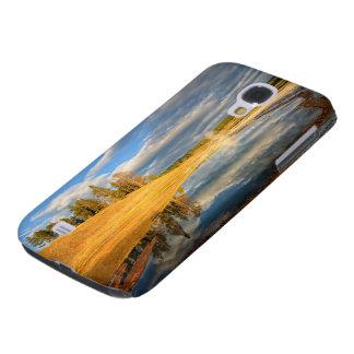 Landscape of Yellowstone Galaxy S4 Case