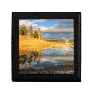 Landscape of Yellowstone Gift Box