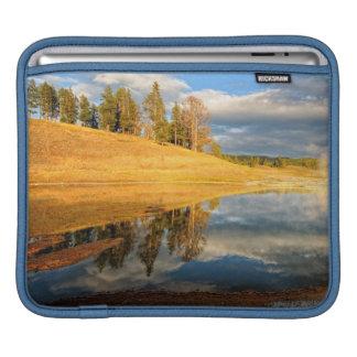 Landscape of Yellowstone iPad Sleeve