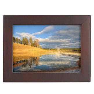 Landscape of Yellowstone Keepsake Box