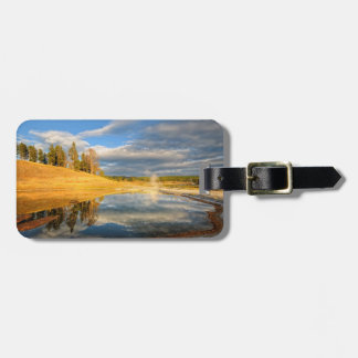 Landscape of Yellowstone Luggage Tag