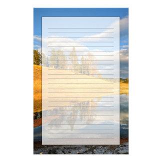 Landscape of Yellowstone Stationery