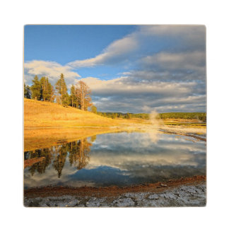 Landscape of Yellowstone Wood Coaster