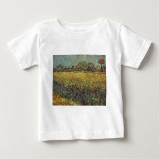 Landscape painting by Vincent Van Gogh Baby T-Shirt