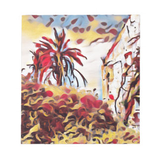 LANDSCAPE PAINTING SOUTH SPAIN NOTEPAD