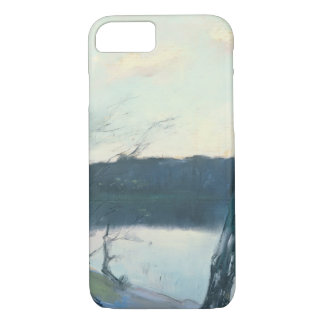 Landscape (pastel on canvas) iPhone 7 case