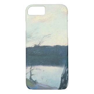 Landscape (pastel on canvas) iPhone 7 case
