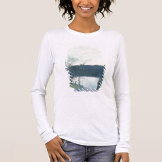 Landscape (pastel on canvas) long sleeve T-Shirt