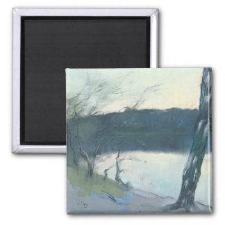 Landscape (pastel on canvas) magnet