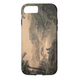 Landscape (pen & ink wash) iPhone 8/7 case