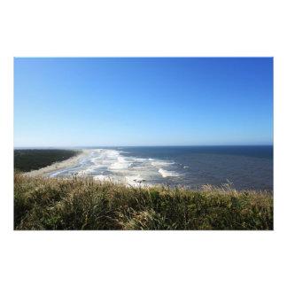 Landscape photography of sea, beach, blue sky photograph