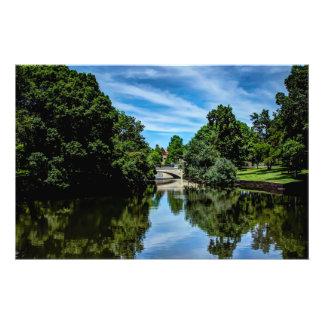 Landscape picture taken at Turtle Creek Dallas, TX Photo Print