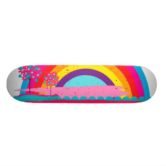 Landscape Rainbow 21.3 Cm Mini Skateboard Deck