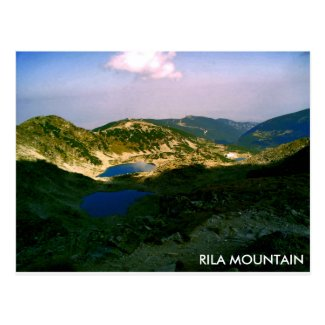 Landscape Rila mountain