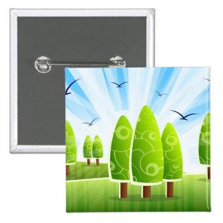 Landscape Scenery Button
