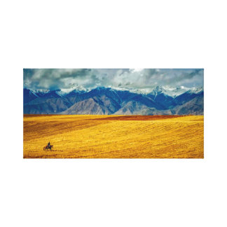 Landscape | Sky | Mountains Canvas Print