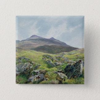Landscape, Snowdon 15 Cm Square Badge