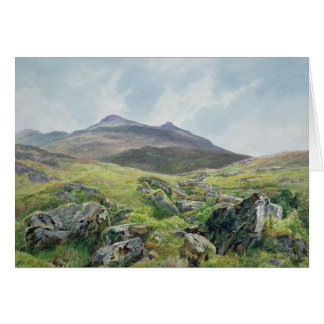 Landscape, Snowdon Card