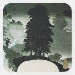 Landscape Square Sticker