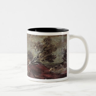 Landscape: Storm Effect, 18th century Two-Tone Coffee Mug