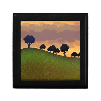 Landscape summer gift box