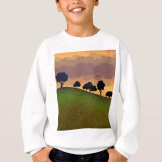 Landscape summer sweatshirt