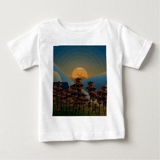 Landscape sunset baby T-Shirt
