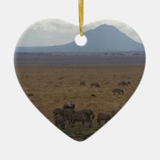Landscape Tanzania  Tom Wurl Christmas Ornament