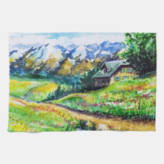 Landscape Tea Towel