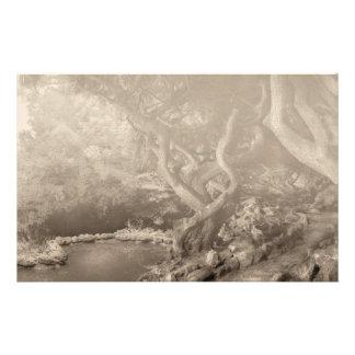 Landscape - The Forbidden Forest Stationery Paper