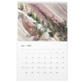 Landscape Variety East and West Wall Calendar