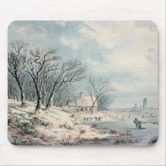 Landscape: Winter Mouse Mat