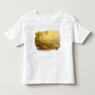 Landscape with a Birdcatcher (oil on panel) Toddler T-Shirt
