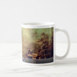 Landscape With A Lake Classic White Coffee Mug