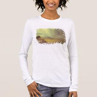 Landscape with a rainbow long sleeve T-Shirt