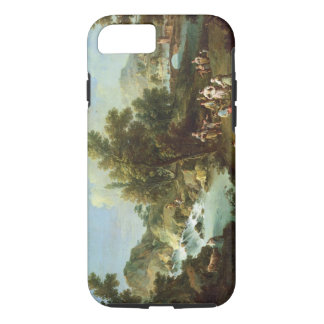 Landscape with a River and Dancing Peasants (oil o iPhone 8/7 Case