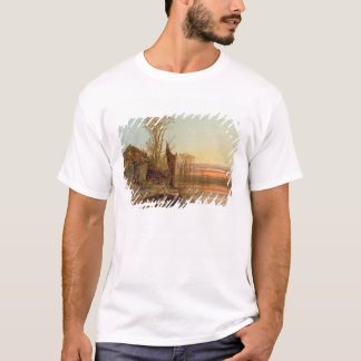 Landscape with a Ruined Cottage at Sunset, 1898 T-Shirt