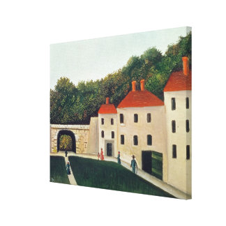 Landscape with an Arch and Three Houses, 1907 (oil Canvas Print